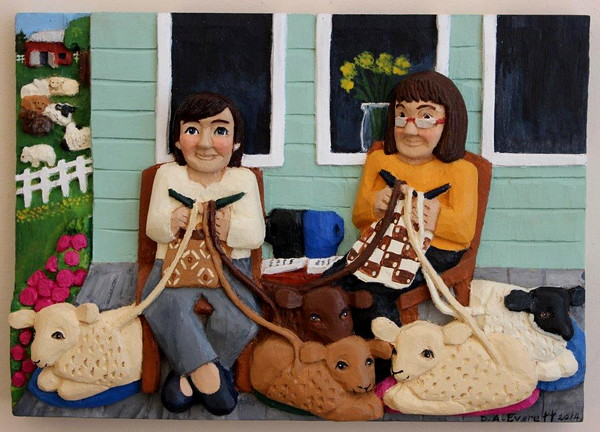 Knitting Ladies