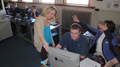 Science Tech Week, St. Jerome Regional School, Tamaqua (3-21-2014)