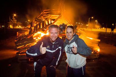 CSUMB Bonfire & Pep Rally 1-31-13