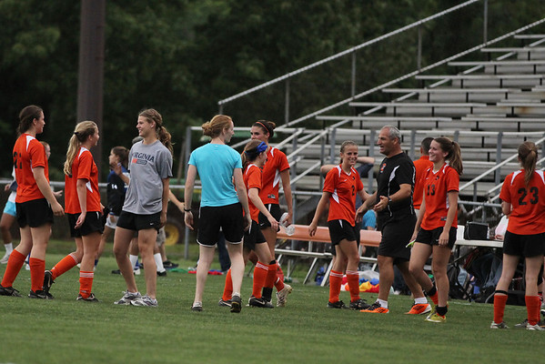 Charlottesville girls soccer shuts out Western 2011