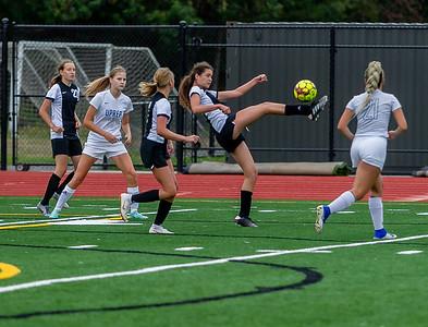 Set four, through half time: Girls Varsity Soccer v University Prep, 09/14/2019