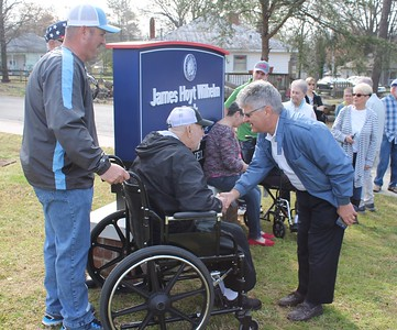 James Hoyt Wilhelm Park Dedication 2017