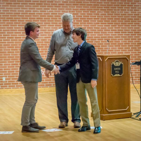 Nico and Tyler Mathematics winner and runner up