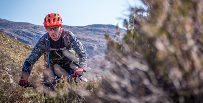 Scott's 40th - biking in Torridon