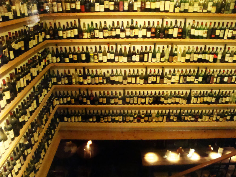 Wine bar. The Viennese know how to drink!