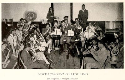 NCCU Marching Band Yearbook History Photos
