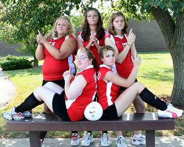 SNHS Volleyball 2007