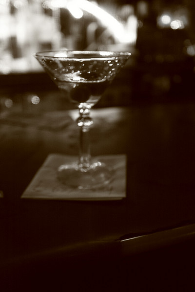 martinis in the Mission District