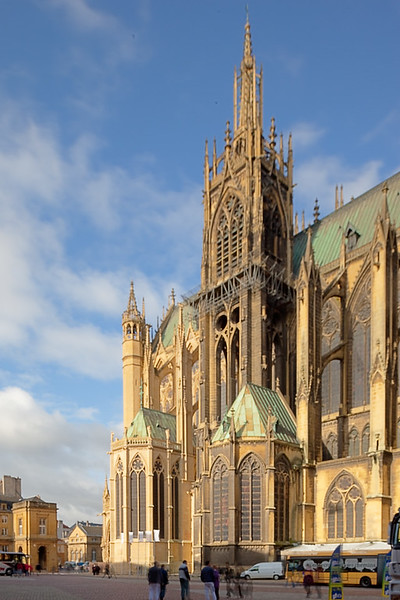Metz Cathedral of Saint Stephen Tower
