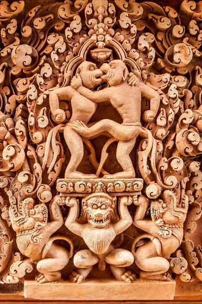 Intricate Carvings at Bantay Srei