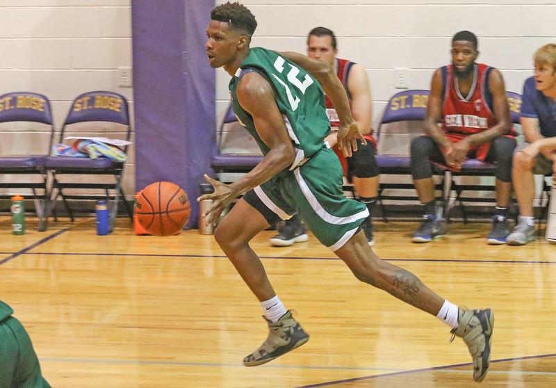 Jersey Shore Basketball League in Belmar, NJ on 7/2/19.[DANIELLA HEMINGHAUS | THE COAST STAR]