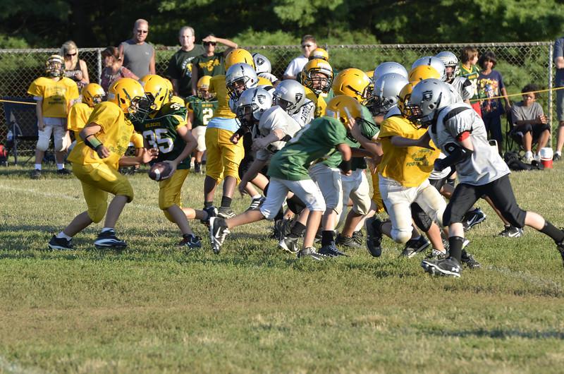 Wildcats vs Raiders Scrimmage 069.JPG