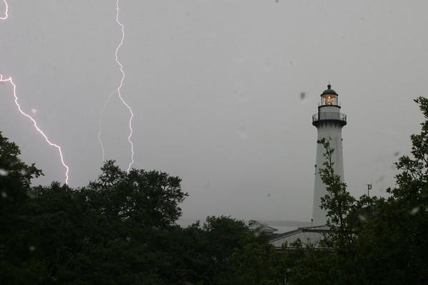 8:7:08 St. Simons Island - Lighthouse Lightening