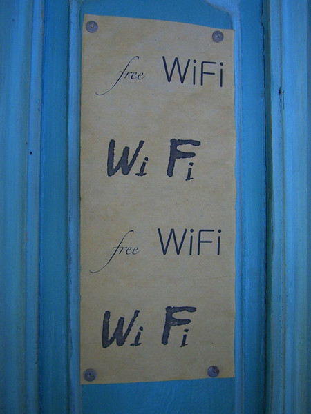 WiFi Sign - Tbilisi, Georgia