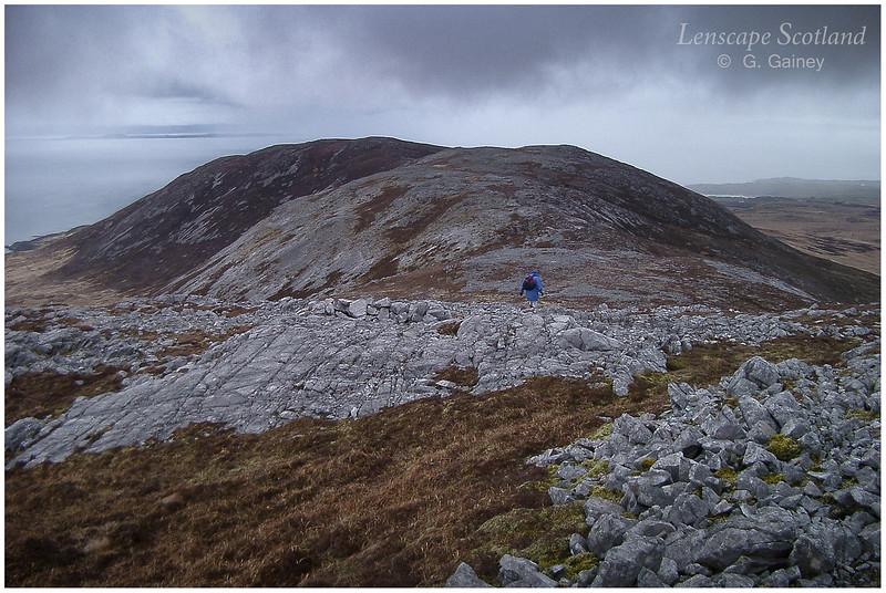Beinn Bheigier - view SE from summit
