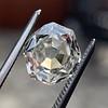 2.12ct Octagonal Flat Cut Diamond, GIA M VS2 28