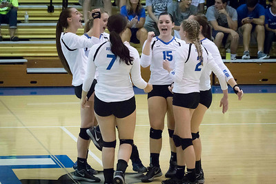 DHS Volleyball 09-19-2016