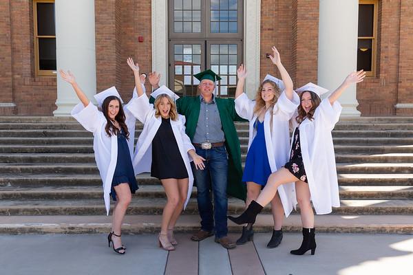 Hannah and Friends Graduation