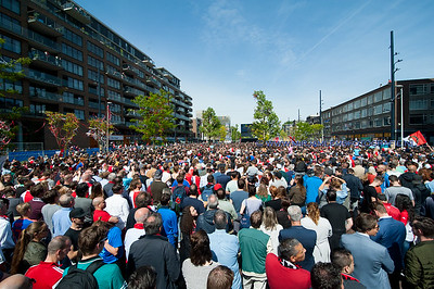 15-05-2017 Huldiging Feyenoord Landskampioen Rotterdam