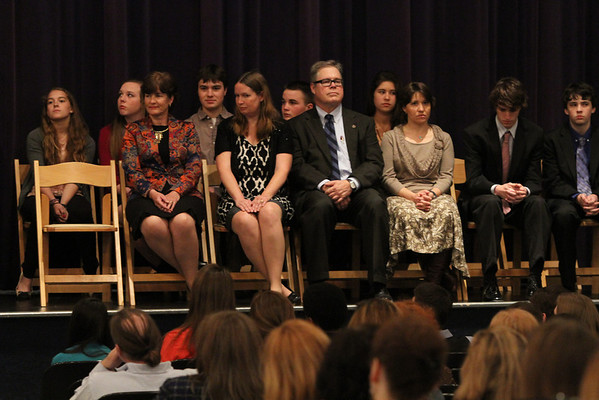 NHS/NJHS Induction 4/24/13