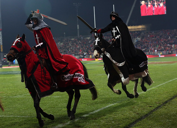 Crusaders Horsemen during game 3 of the British and Irish Lions 2017 Tour of New Zealand,The match between  Crusaders and British and Irish Lions, AMI Stadium, Christchurch, Saturday 10th June 2017 (Photo by Kevin Booth Steve Haag Sports)  Images for social media must have consent from Steve Haag