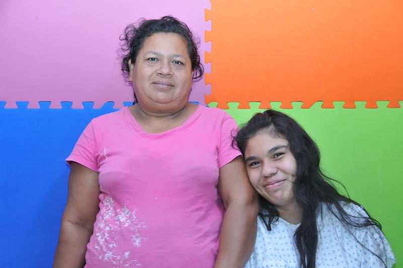 Rosemary and Mom