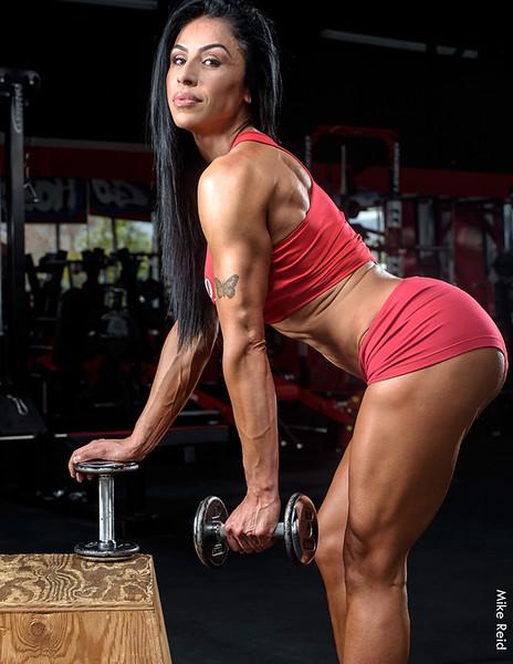 Lisa Maldanado at Old Skool Iron