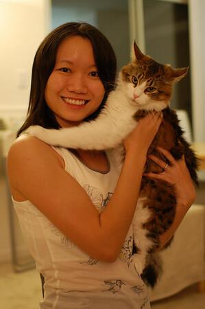 Rosanna and Cats, 2007