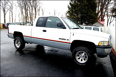 2001 Dodge Ram 1500 Extended cab 4by4