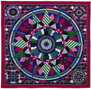 Rose de Compas - CS140 - Fuchsia Green Purple - NWCTS - 1611201923