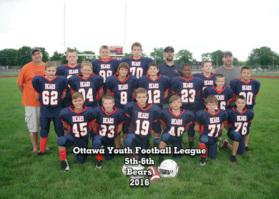 Ottawa Football and Cheer