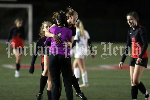 Girls' soccer: Cheverus at Scarborough