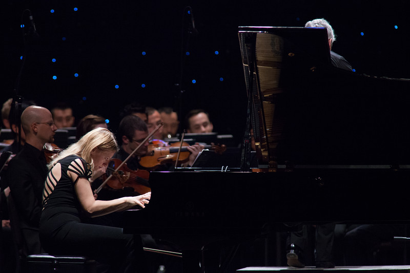 2013 Festival of the Arts BOCA presents Valentina Lisitsa, piano; Peter Oundjian, conductor; New World Symphony, America's Orchestral Academy