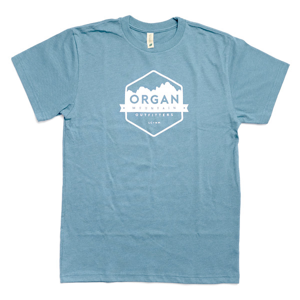 Organ Mountain Outfitters - Outdoor Apparel - T-Shirt - Classic Eco Heavyweight Tee - Heather Pacific.jpg