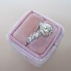 1.59ct Round Brilliant Diamond Ring GIA J SI1 22