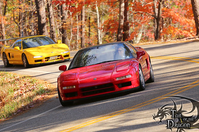 NSX at The Tail Of The Dragon
