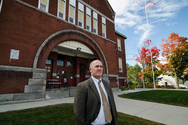 Goodrich Academy Principal Ray Dewar