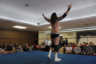Northeast Championship Wrestling Collision Course February 17, 2017 Josh Briggs vs. Brick Mastone
