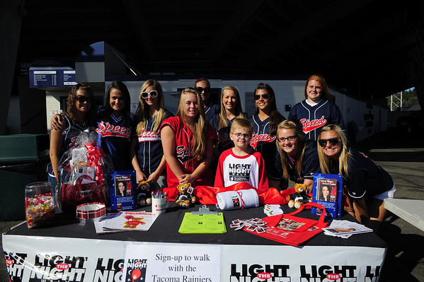 Light the Night Kickoff at Tacoma Rainiers 2009