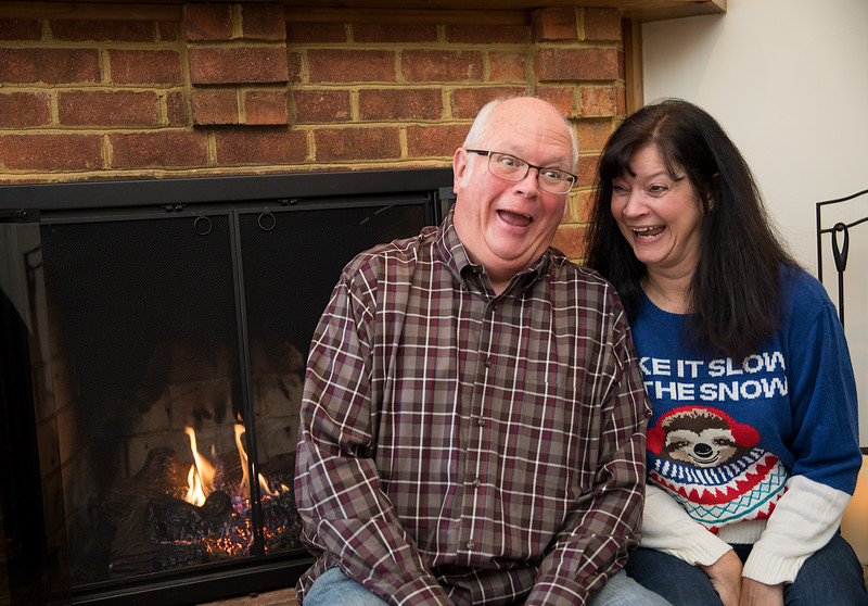 Mom and Dad Goofing by the Fireplace 2.jpg