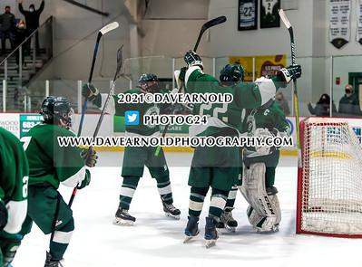 3/10/2021 - Boys Varsity Hockey - NHIAA D2 Semifinal - Dover vs Oyster River
