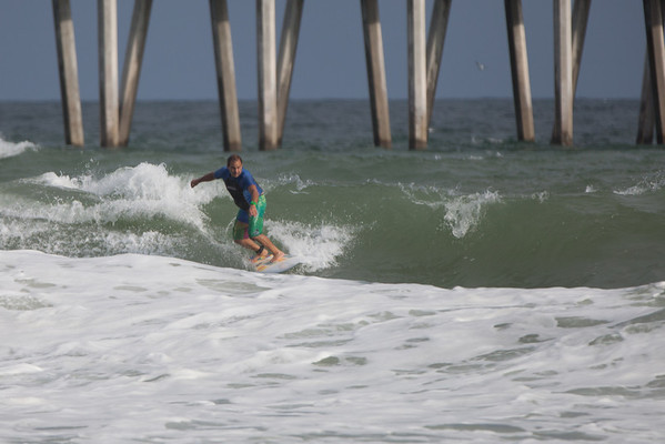 Pensacola Beach Surfing 9-12-2012