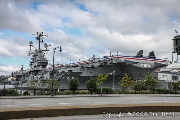 USS Intrepid (CV-11) – NYC - 2009