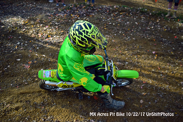 MX Acres Pit Bike Race UpShiftPhotos 10/22/17