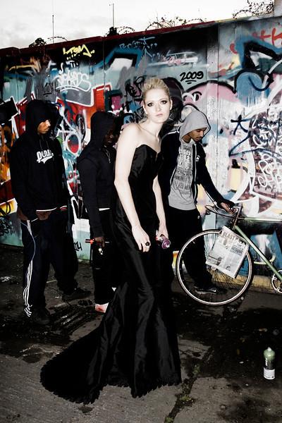 Model:lilly Harnett. Photography:Angela Halpin.Fashion Hair & Make Up: Caroline Harnett