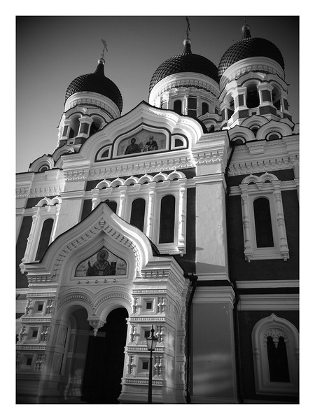 Alexander Nevsky Orthodox Cathedral, Tallinn, Estonia