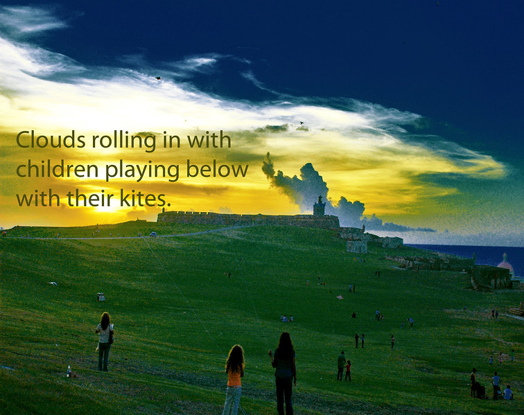 08  Rolling clouds with Children playing ....jpg