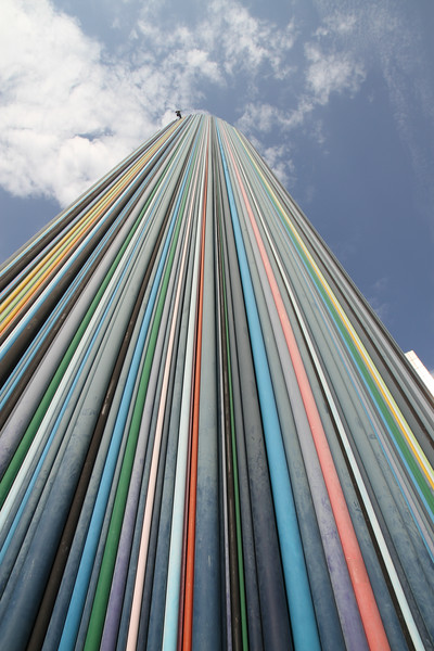 Striped Tower Monument