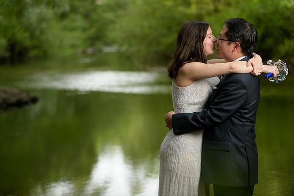 Alex and Yee (Bridal Portrait Photography) @ Henry Cowell Redwoods, Felton, California