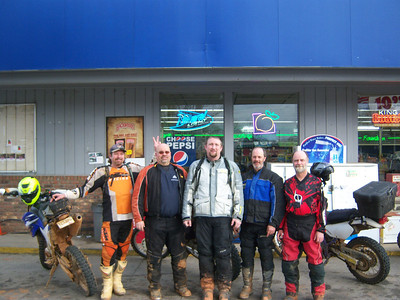 2013.01.13 - S. GA Dual Sport (5 riders)